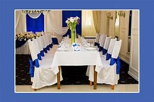 Tischdeko Blau Weiß : hochzeitsdeko blau russische hochzeit in deutschland ~ Markanthonyermac.com Haus und Dekorationen