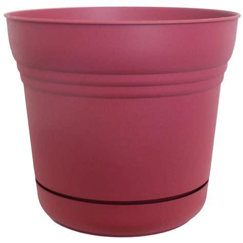 home depot plastic planters bloem 7 in plastic union saturn planter 12 pack