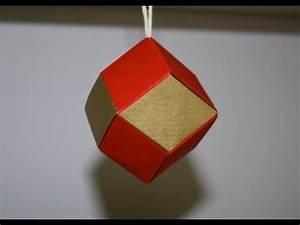 Origami Boule De Noel : origami dod ca dre rhombique boule de no l senbazuru ~ Farleysfitness.com Idées de Décoration