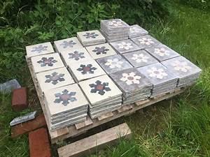 photo nettoyage vieux carreaux de ciment carrelage With nettoyage carreaux de ciment