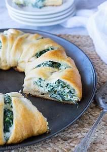 cheesy spinach crescent roll recipe favesouthernrecipes