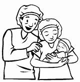 Parents Parent Clipart Child Coloring Pages Clip Drawing Cliparts Born Printable Getcolorings Quotes Happy Library Getdrawings Clipground sketch template
