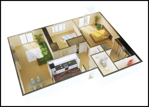 contoh gambar sketsa rumah sederhana  kamar tidur
