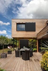 17 meilleures idees a propos de maisons contemporaines sur With amenagement de terrasse exterieur 17 portes dentree contemporaines komilfo