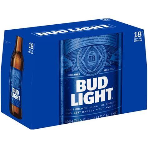Bud Light Beer 12 Fl Oz 18 Pack Walmart Com