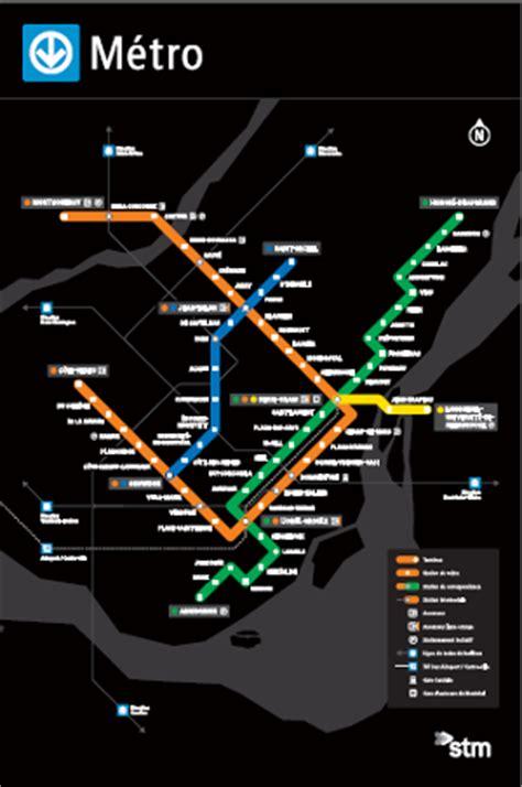 Carte Metro De Pdf by Maps Soci 233 T 233 De Transport De Montr 233 Al