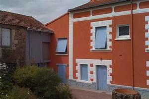 Peinture Pour Façade De Maison : peinture facade meilleures images d 39 inspiration pour ~ Premium-room.com Idées de Décoration