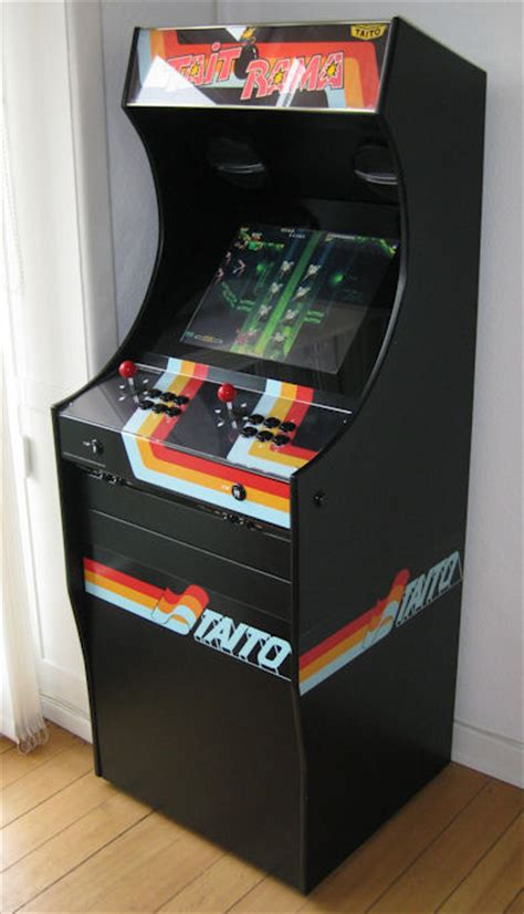 build arcade cabinet with pc project mame build your own mame cabinet taitorama