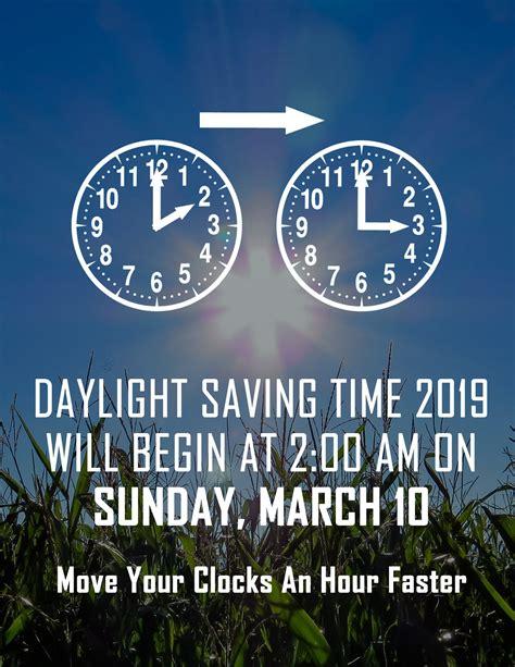 daylight saving time sunday march columbia college