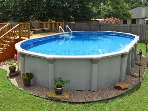 Backyard Swimming Pools Above Ground by 5 Benefits Of Above Ground Pools The Pool Factory