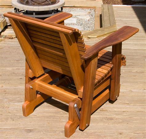 outdoor glider chair plans fine woodworking