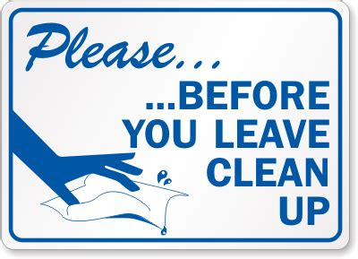 clean  sign  graphic sku