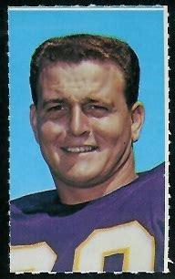 roy winston  glendale stamps  vintage football