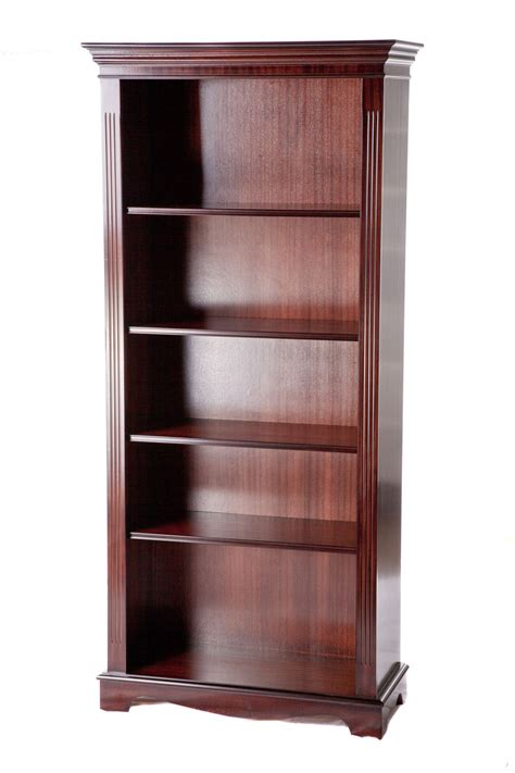 Reproduction Bookcase by Classic Ashmore Reproduction Open Bookcase 6ft Up To 40