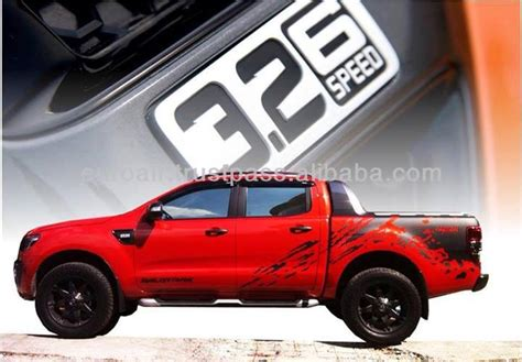 accessoire ford ranger 2014 autocollant decal pour ford ranger t6 wildtrak pour raptor t150 look buy product on alibaba