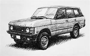 My Drawing Of A  U0026 39 95 Range Rover Classic   Landrover