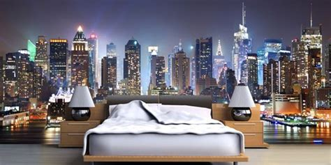 york wallpaper murals decor  bedroom ideas comfy