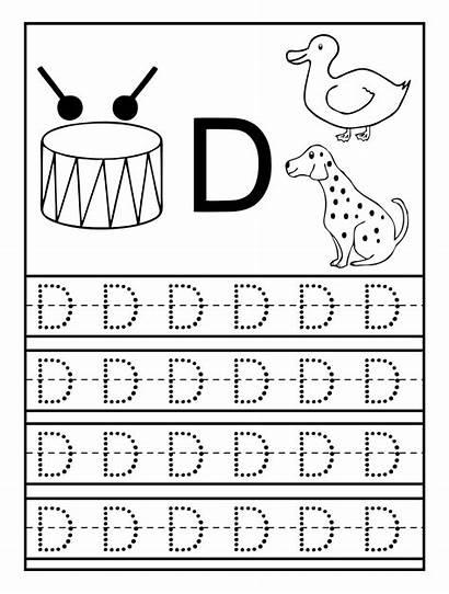 Preschool Tracing Worksheets Letter Letters Printable