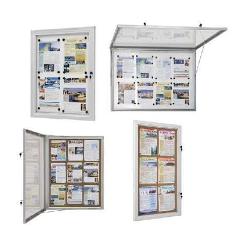 vitrines d affichage int 233 rieur ou ext 233 rieur avec fond m 233 tallique ou fond li 232 ge