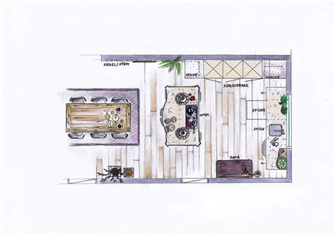 Kuechenplanung Mit Verschiedenen Grundrissen by Planzeichnungen Edle K 252 Chen