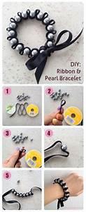 Comment Faire Un Bracelet En Perle : comment faire fabriquer un bracelet breloque chic avec un ruban faire et fabriquer ses ~ Melissatoandfro.com Idées de Décoration