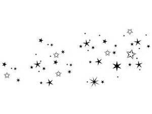 wanduhr design wandtattoo nächtlicher sternenhimmel bei homesticker de