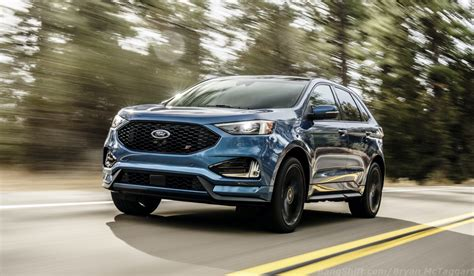 Bangshiftcom Unveiled 2019 Ford Edge St  Putting A