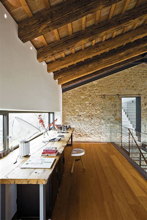 renovated farmhouse   countryside spells luxury