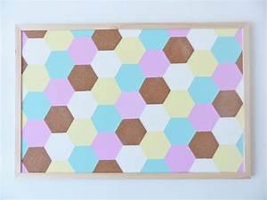 Tableau De Liège : diy tableau en liege geometrique pastel video les ~ Melissatoandfro.com Idées de Décoration
