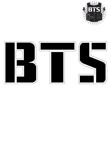 quot bts bangtan boys logo quot stickers by aizazer redbubble