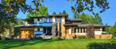 inspired homes frank lloyd wright inspired porch front homes