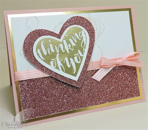 thinking   super simple card  stampin