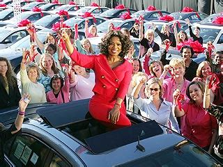 Oprah Gives Cars oprah gives cars to entire studio audience the oprah