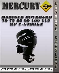 1988 Mercury 115hp 2 Stroke Outboard Factory Service Work Shop Manual Download