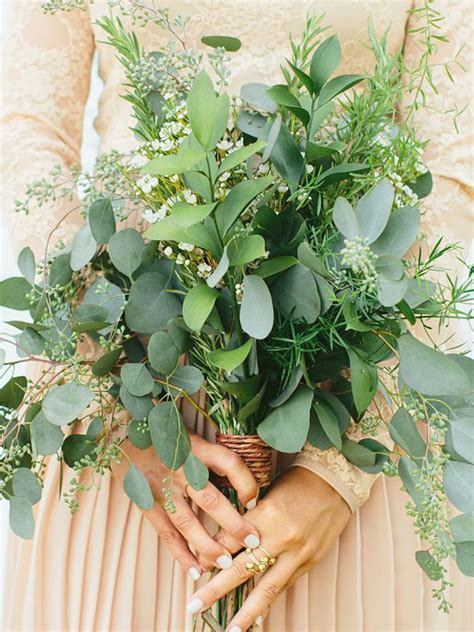 fresh greenery inspiration  weddings