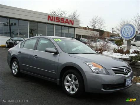 grey nissan altima 2008 precision gray metallic nissan altima hybrid 3570849