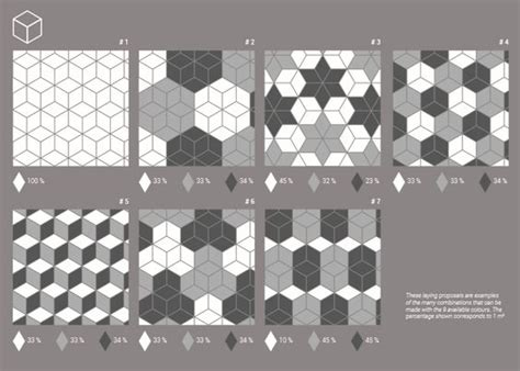 pose carrelage en losange carrelage losange diamant 14x24cm rhombus 3 dimensions
