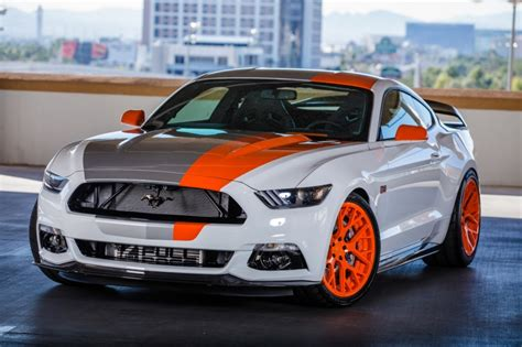 mustang modified ford sends a squad of custom mustangs to sema amcarguide