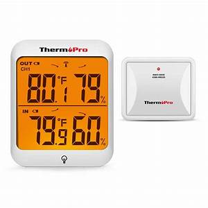 Thermopro Tp63a Digital Thermometer Wireless Hygrometer