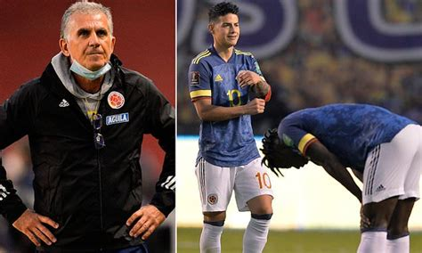 Colombia SACK Carlos Queiroz after they conceded six to ...