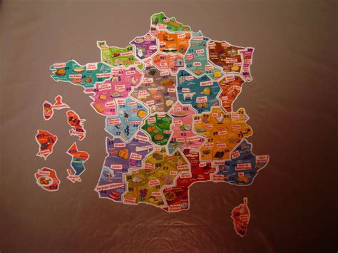 Carte De Region Le Gaulois by Magnets 224 233 Changer