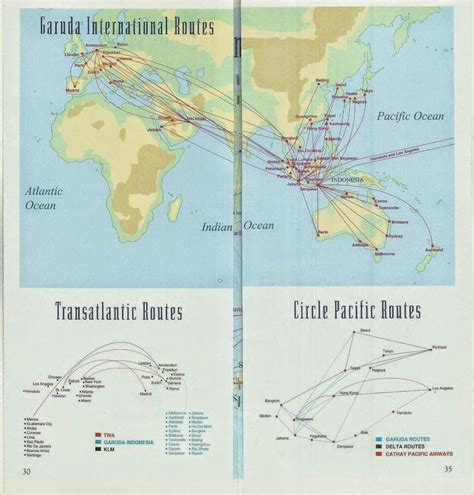 airline route maps images  pinterest aircraft