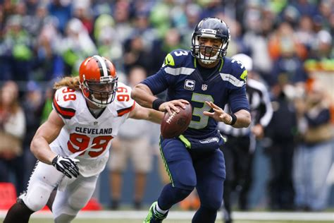 cleveland browns  seattle seahawks  quarter game