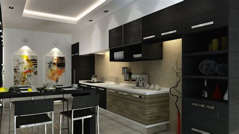 black cabinet kitchen designs 15 astonishing black kitchen cabinets home design lover 4653