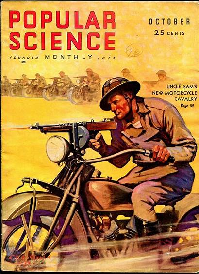 Science Popular Magazine Covers Poster Pulp Posters