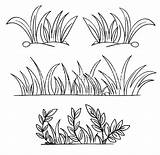Grass Coloring Well Grow Drawing Outline Draw Clipart Printable Snake Colorluna Drawings Realistic Getdrawings Grasshopper Perch Lillypad Clip Rocks sketch template