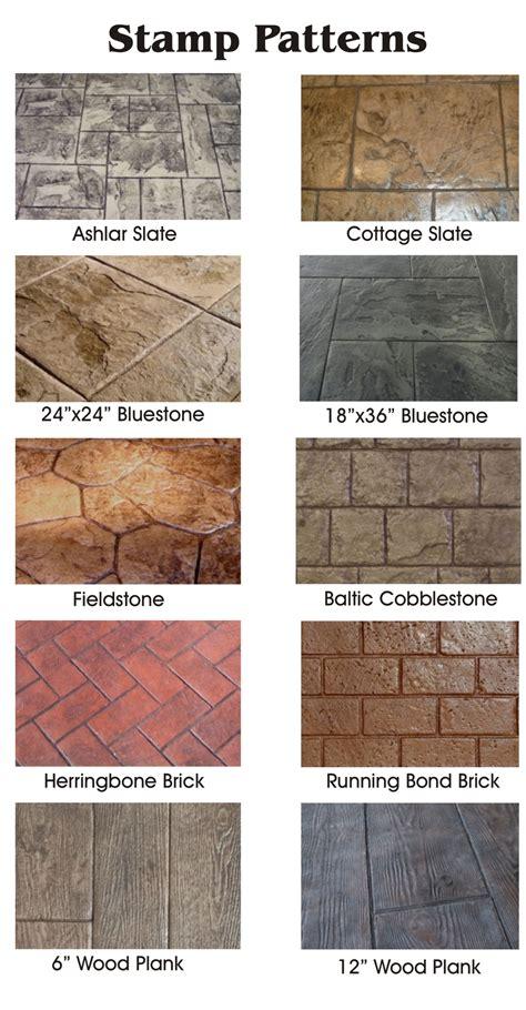 stamped concrete restoration  connecticut massachusetts