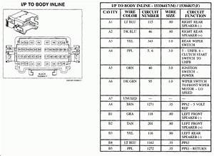 2006 Saturn Relay Fuse Box Diagram