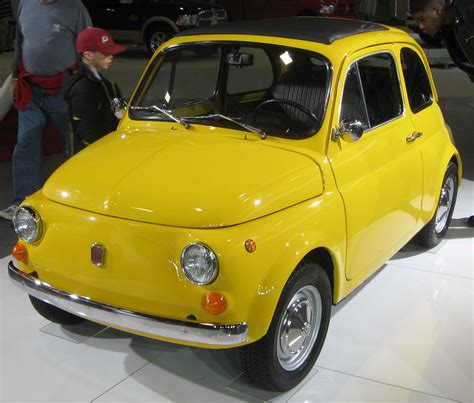 Original Fiat 500 by New Fiat 500 A World Class Small Car Western Driver