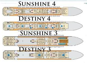 destiny gt gt gt sunshine deck by deck visual comparison